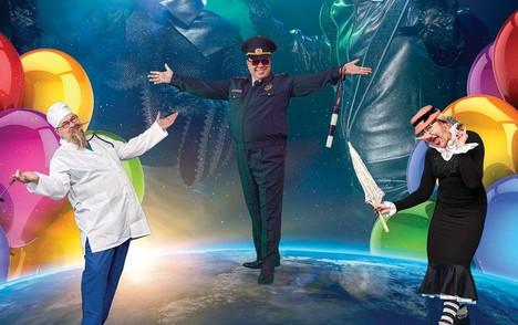 Театрализованное музыкальное шоу-викторина КОСМИЧЕСКОЕ (КОМИЧЕСКОЕ) ПУТЕШЕСТВИЕ НА ПЛАНЕТУ ДОБРА