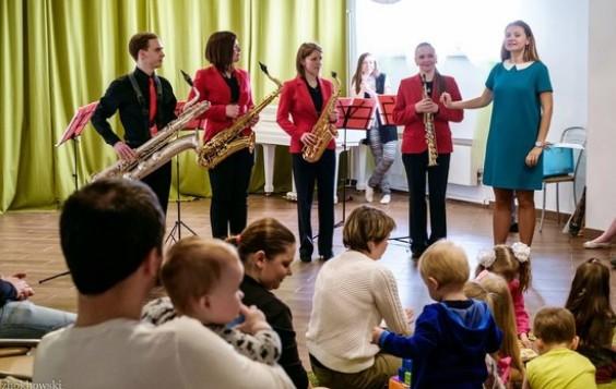 Концерт для детей 4 саксофона