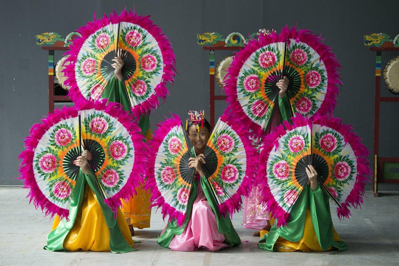 Мастер-классы «Корейский танец и музыка»