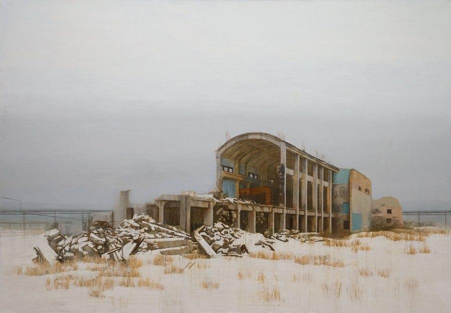 Выставка ПАВЕЛ ОТДЕЛЬНОВ | ХИМЗАВОД