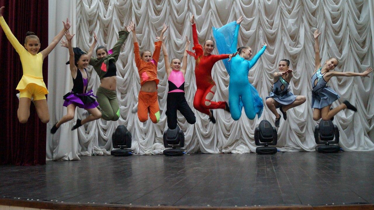 отчётный концерт ансамбля танца «Новое поколение»