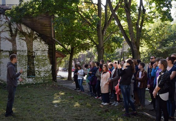 стрит-арт экскурсия от организатора проекта Никиты Nomerz