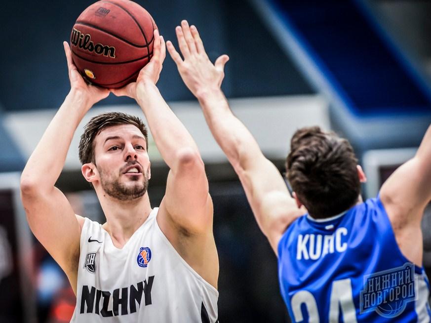 Баскетбольный матч «НН — УНИКС (плей-офф, игра 3)»