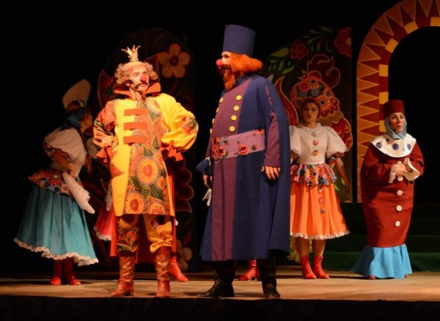 детский мюзикл Свистопляска в тридевятом царстве Гастроли театра оперы и балета республики коми