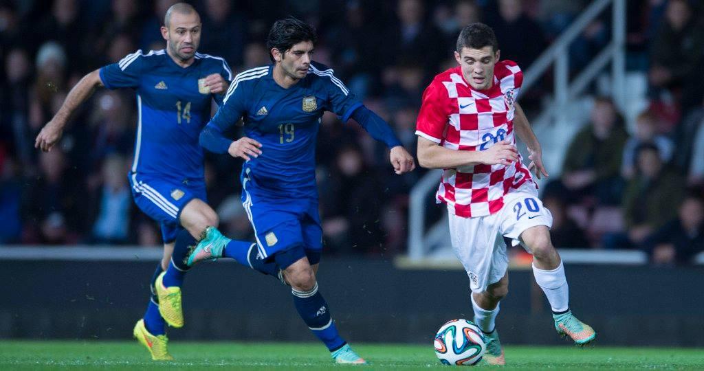 Трансляция Аргентина/Хорватия