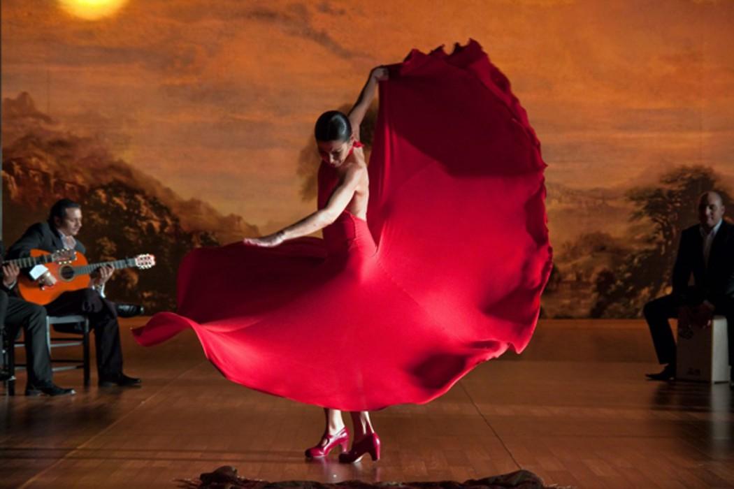 Открытый урок по танцу фламенко
