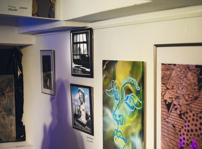 Первая выставка проекта MOLODOE