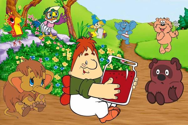 Летний видеозал: просмотр любимых мультфильмов по книгам детских писателей