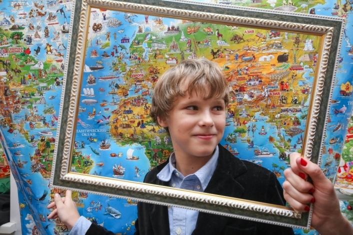 Познавательно-развлекательная программа для детей Вокруг света за один день
