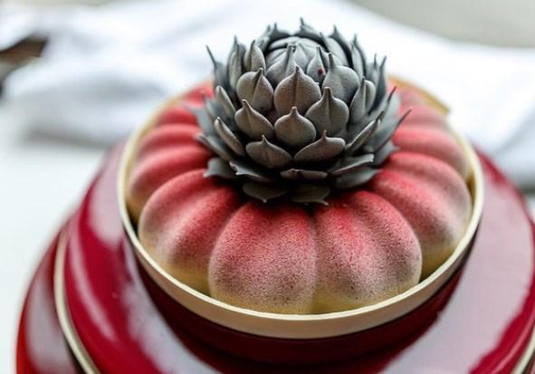 Кулинарный мастер класс Трёхъярусный муссовый торт