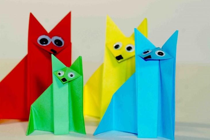 мастер-класс «Забавное оригами»