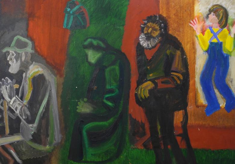 экспозиция «От монументализма к живописи»