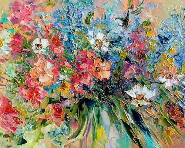 выставка Елены Лукиной «Вернисаж хорошего настроения»