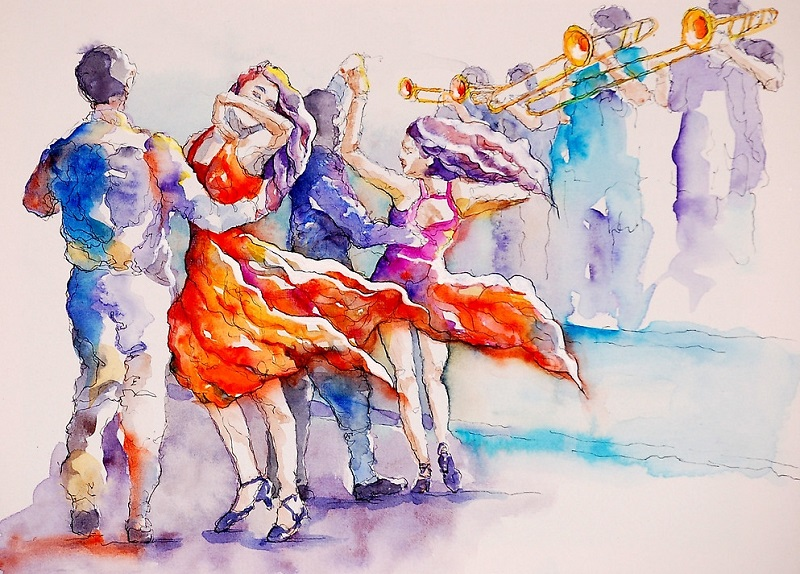 Открытый урок по Сальсе в Студии Dance Life