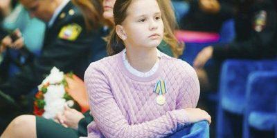 13-летняя Юля Король