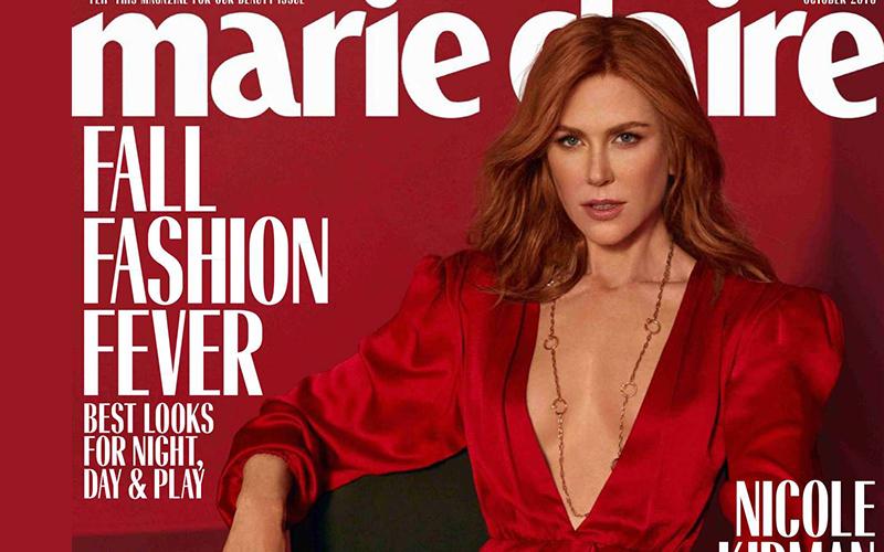 Фотосессия Nicole Kidman (Marie Claire Magazine, октябрь 2018)