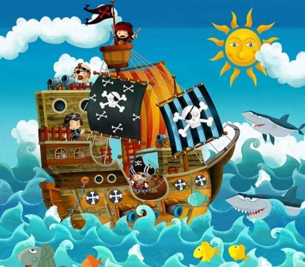 Вечеринка «Пираты книжных морей»
