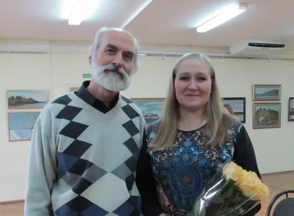 Выставка «Преемственность» отец и дочь. Занога Владимир и Мария