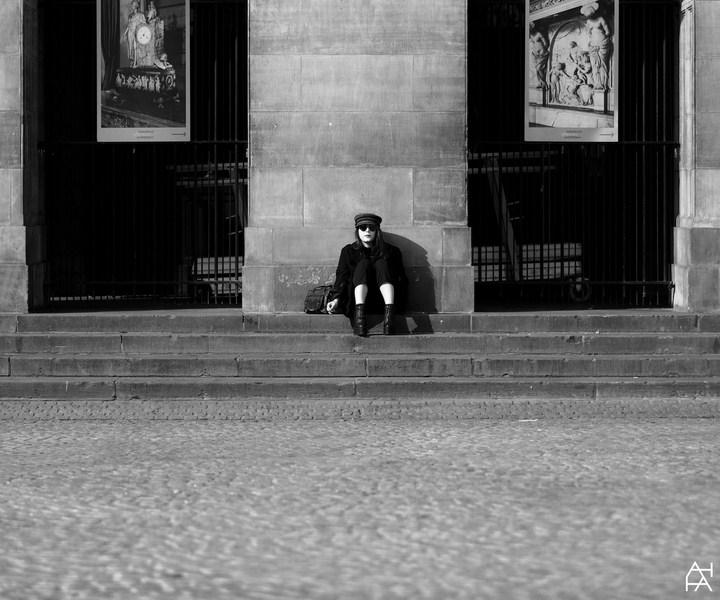 Выставка Куликовой Анны /публичное одиночество