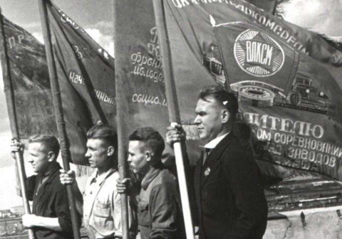 Выставка «Эпоха Комсомола»