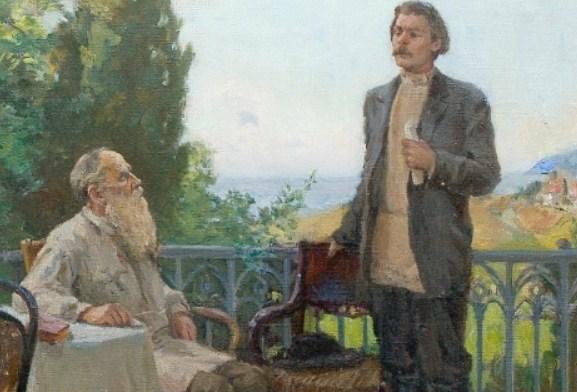 Выставка «Лев Толстой и Максим Горький»
