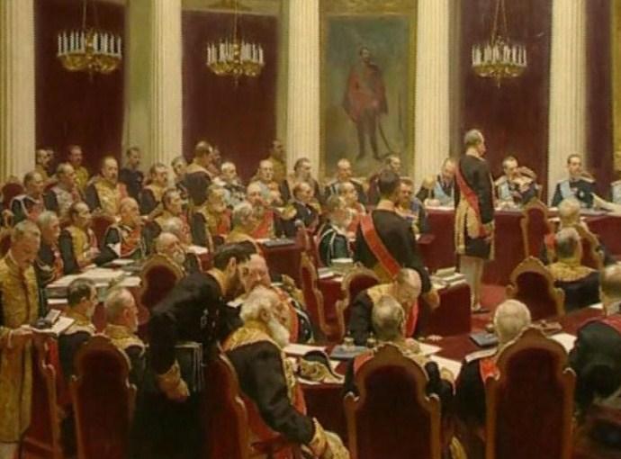 Воскресный кинозал: Илья Репин Торжественное заседание Государственного совета