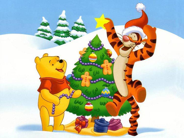 Новогоднее сказочное шоу Новый год с Винни Пухом