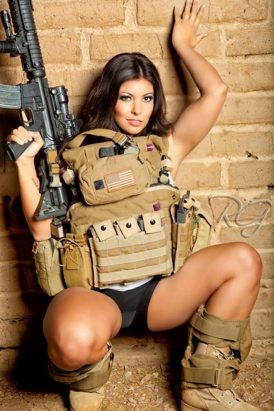 Hot military chicks pictures — pic 9