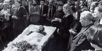 Похороны Высоцкого. 1980 год