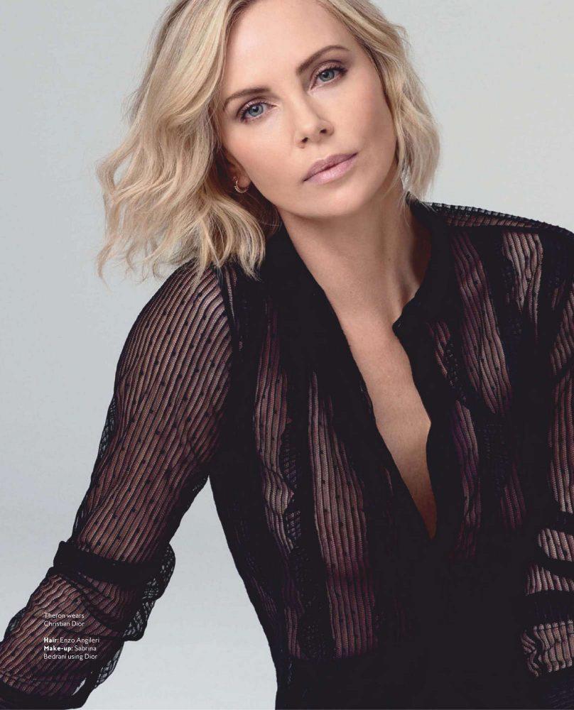 Самая прекрасная Шарлиз! Новейшая фотосессия Charlize Theron (InStyle Australia, январь 2019)