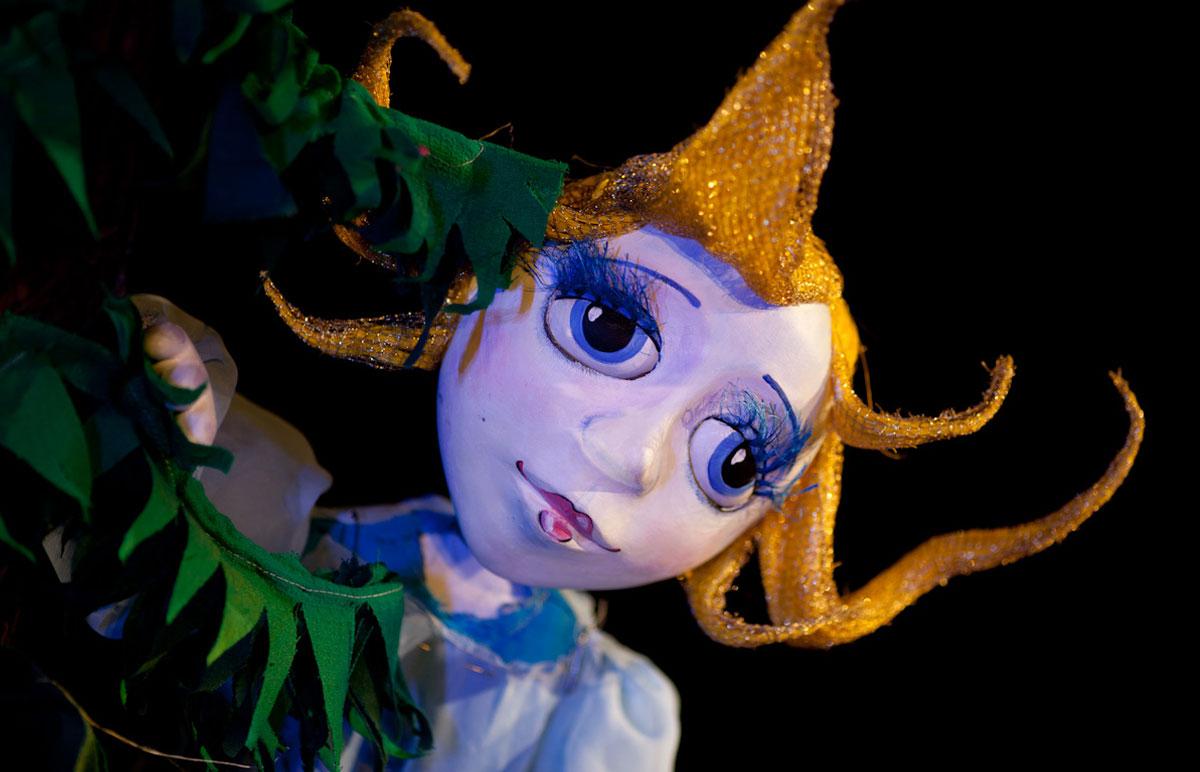 Кукольный спектакль Звездочка