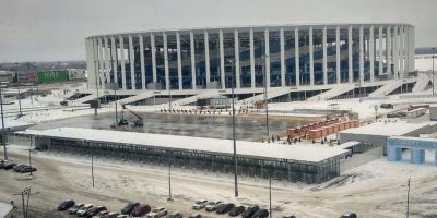 Каток «Зимняя сказка» на стадионе Нижний Новгород