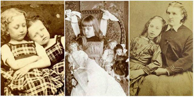 Викторианские Посмертные Фото