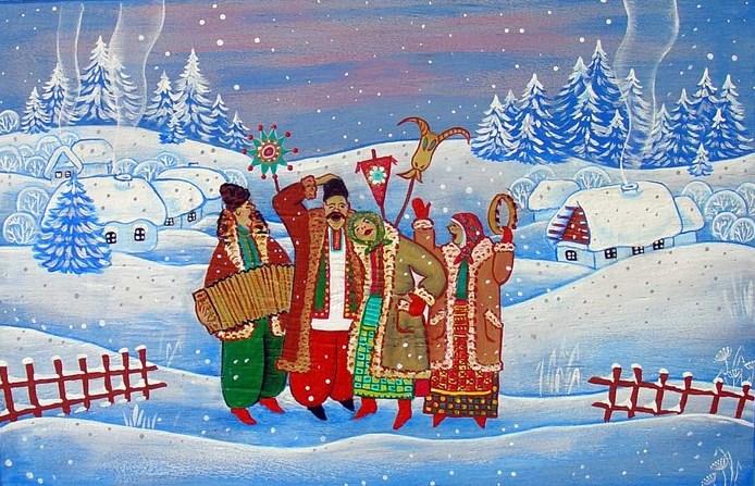 фольклорные «Веселые Святки»