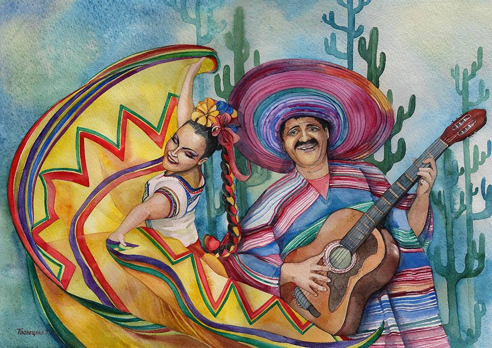Мастер-Класс «Мексика»