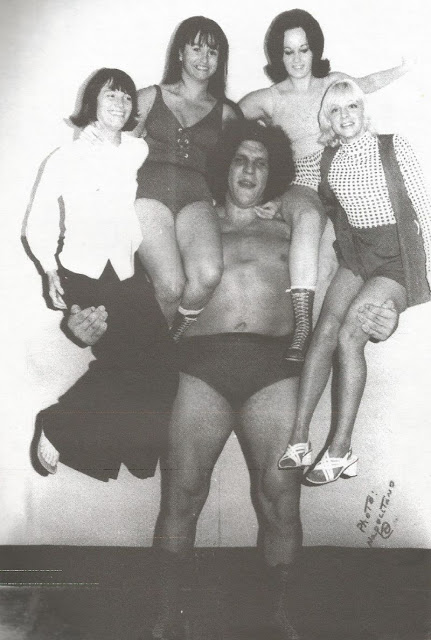7. André could carry four women at a time.