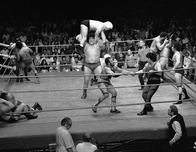 8. André took center stage at the first ever WrestleMania held in 1985 at Madison Square Garden.