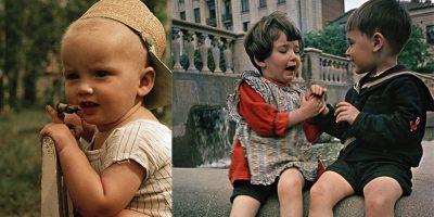 Дети 1950-х на снимках Фридлянда