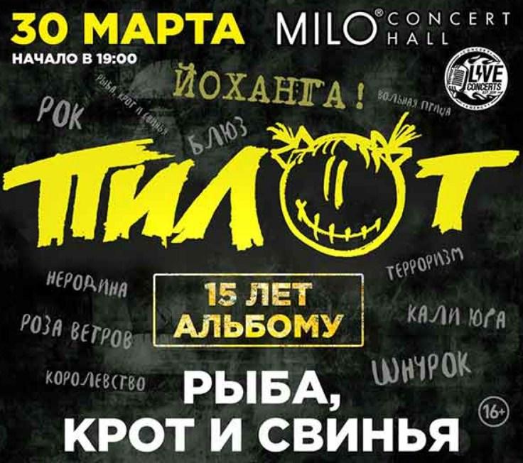 концерт группы Пилот