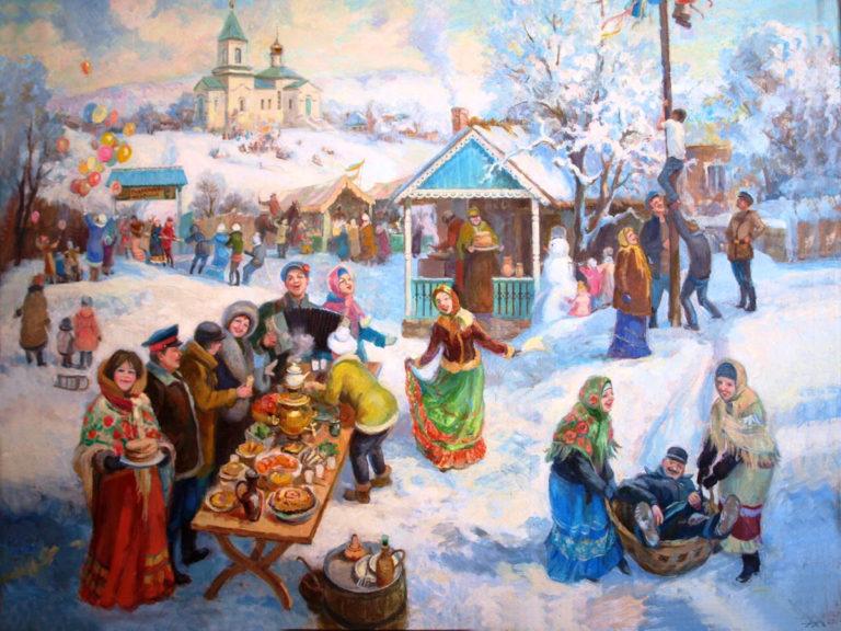 Фольклорная игра «От Рождества до Крещения»