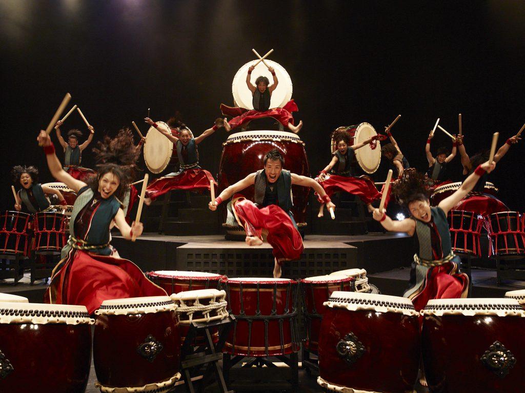 Шоу Японские Барабанщики