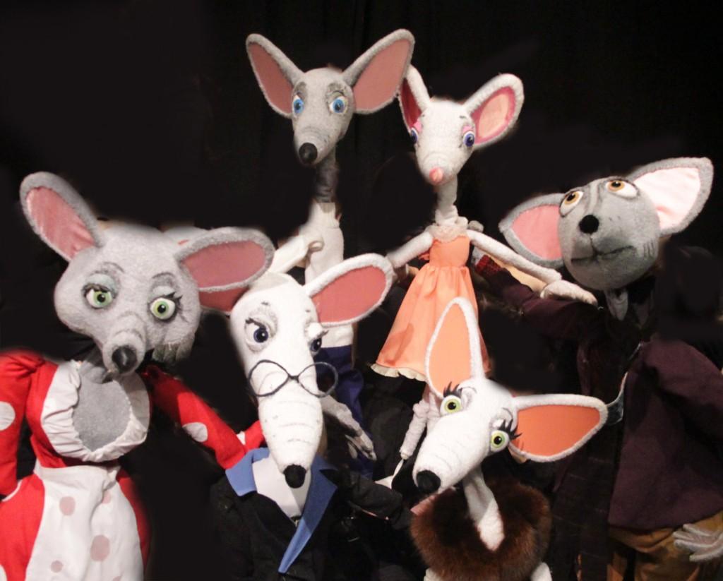 Кукольный спектакль Все мыши любят сыр премьера