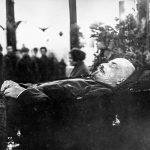 В.И.Ленин накануне смерти
