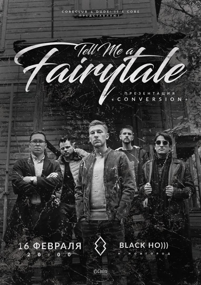 Презентация нового альбом Tell Me a Fairytale