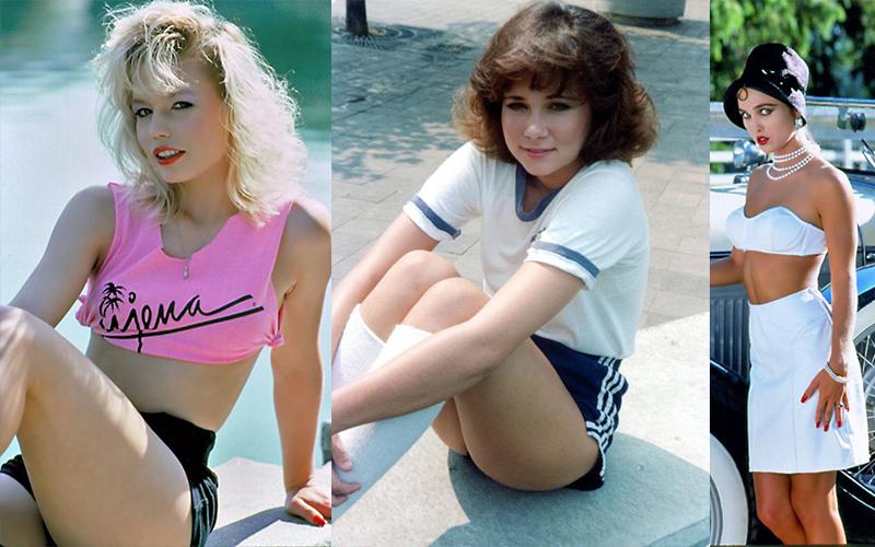 молодых женщин в 1980-х годах