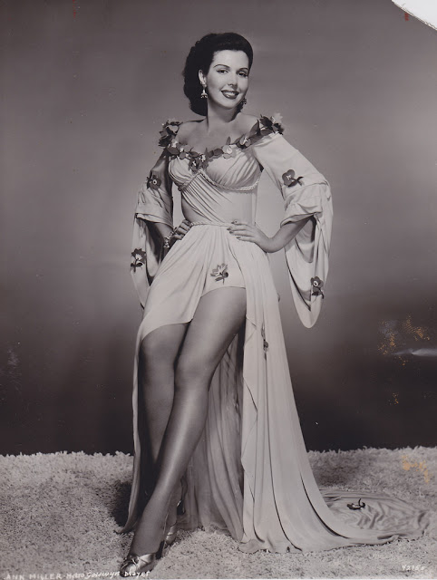 10. Ann Miller - c.1953
