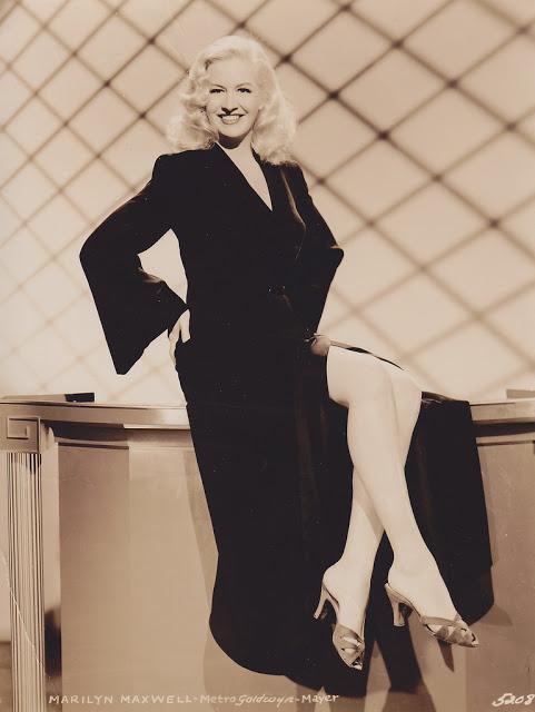 11. Marilyn Maxwell - c.1942