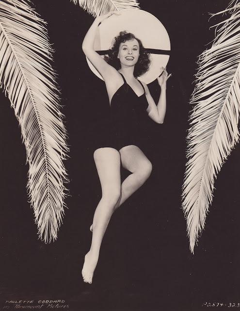 13. Paulette Goddard - c.1940