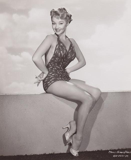 15. Mari Blanchard - c. 1955