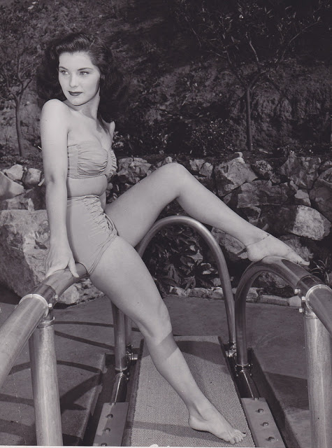 6. Debra Paget - c.1951